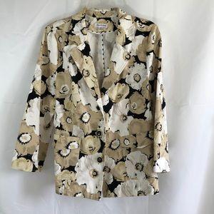 Joan Rivers Size 16 Blazer floral